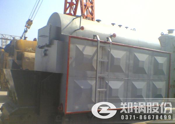 DZL链条炉排锅炉图片