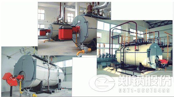 天然气锅炉内部工作流程
