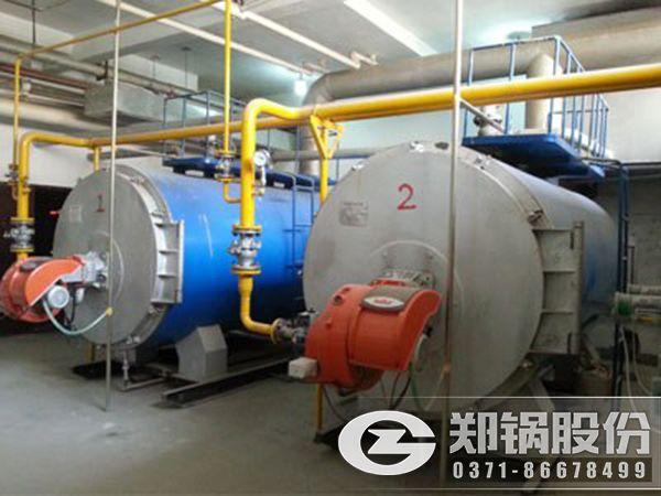 高效燃气热水锅炉原理