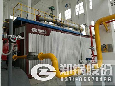 SZS天然氣蒸汽鍋爐