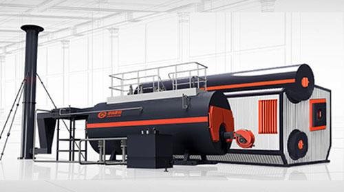 低氮燃油燃气锅炉图片